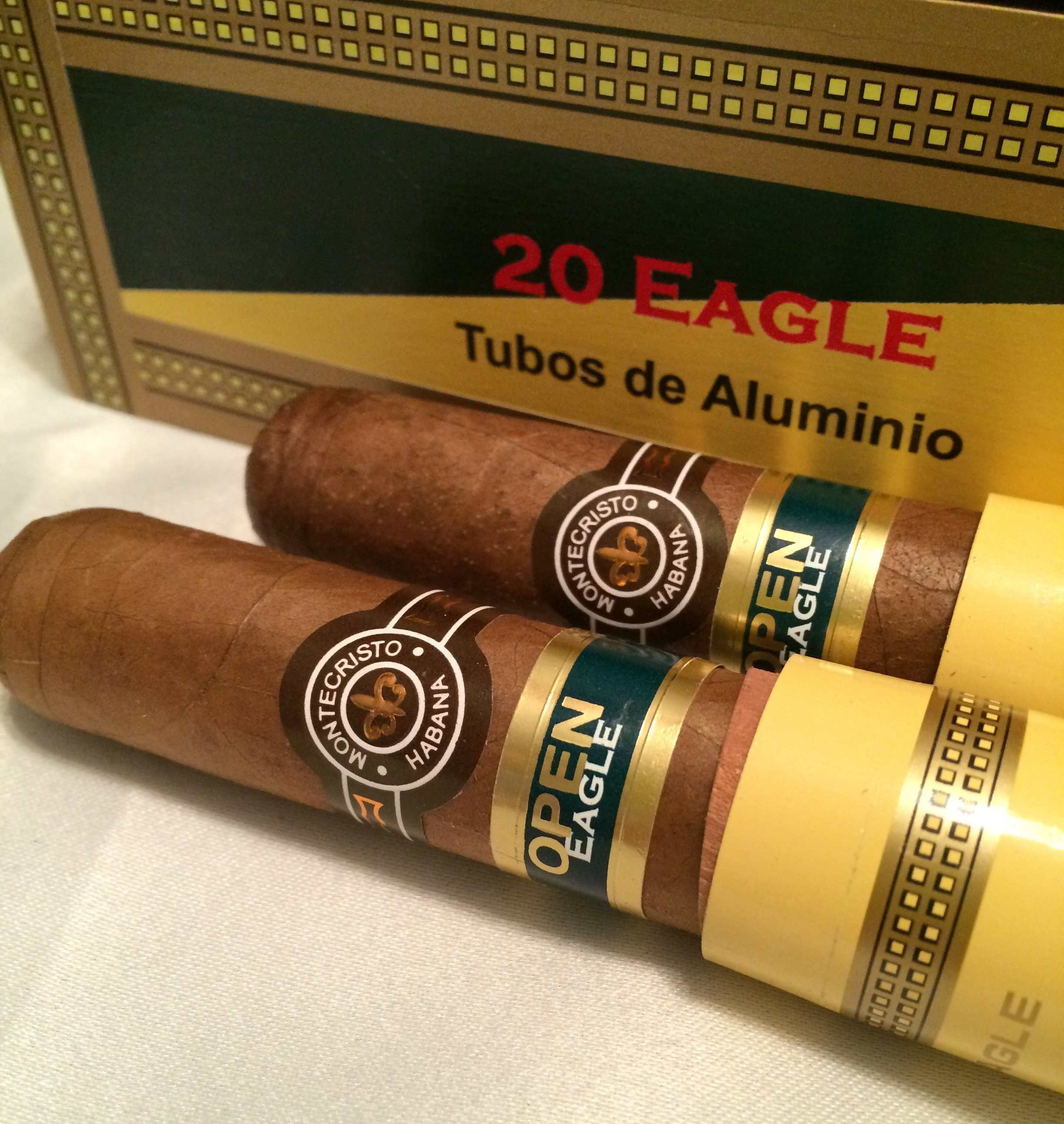 Montecristo – Open Eagle – Tubos (20) ▷ Cuban Cigars Online for ...